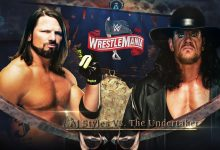 Photo of AJ Styles vs. The Undertaker la WrestleMania 36?