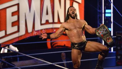 Photo of Drew McIntyre a câștigat titlul WWE la WrestleMania 36