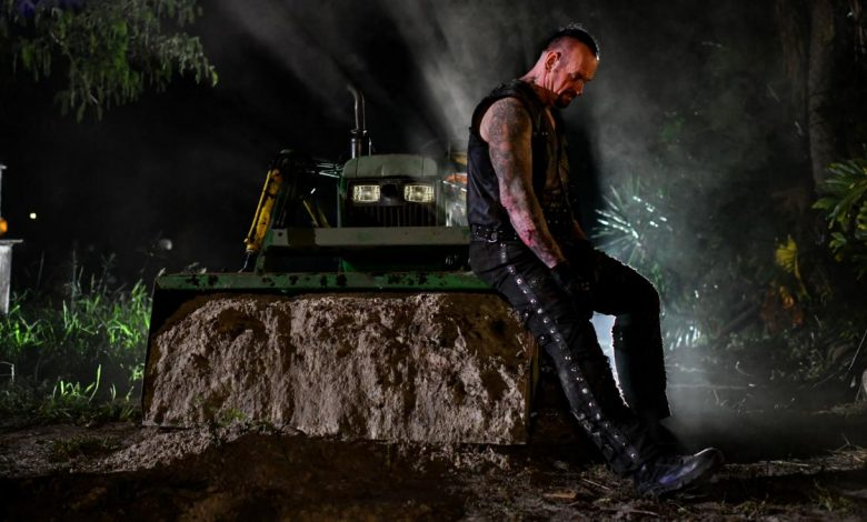 Photo of The Undertaker pare a indica o retragere