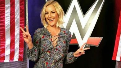 Photo of Renee Young, testată pozitiv cu Covid-19