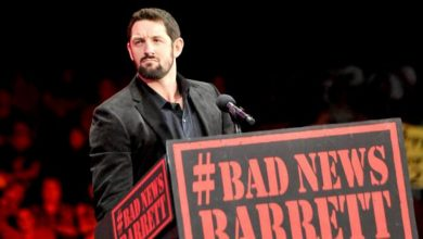 Photo of Wade Barrett a semnat un contract full-time cu WWE