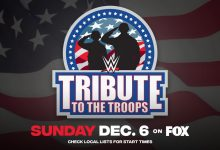 Photo of Au fost anunțate 3 meciuri pentru WWE Tribute to the Troops 2020